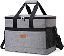 Lifewit 30L Soft Collapsible Cooler Bag Lunch Bag Box, Large Insulated Picnic Bag Travel Bag Soft-Sided Cooling Bag for Camping/BBQ/Family Outdoor Activities