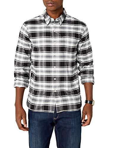 Levi's Herren Sunset 1 Pocket Shirt Freizeithemd, Schwarz (Swift Dark Phantom 0376), Small
