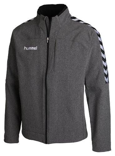 Hummel Softshell Jacke Stay Authentic, Dark Grey Melange, S