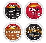 Folgers Coffee Roast Variety Pack, 48 K Cups for Keurig Coffee Makers