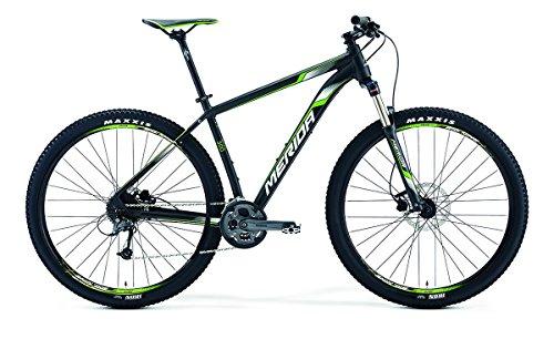 MERIDA Big.Nine 30029pollici Mountain Bike nero/verde (2016), Unisex, 55