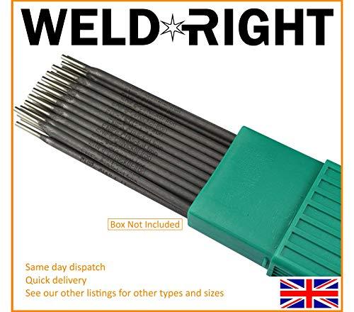 Weld Right ENiFe-C1 Ferro Hierro Fundido Electrodos Para Soldadura Por Arco Varillas 2.5mm X 5 Varillas