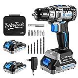 Best Cordless Drills - Cordless drill set, DEKO 20V Brushless Drill Driver Review