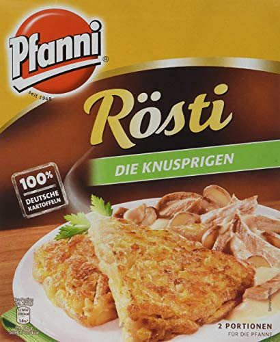 Pfanni Rösti Kartoffelfertiggericht Die Knusprigen aus nachhaltigem Anbau, 1 x 400 g