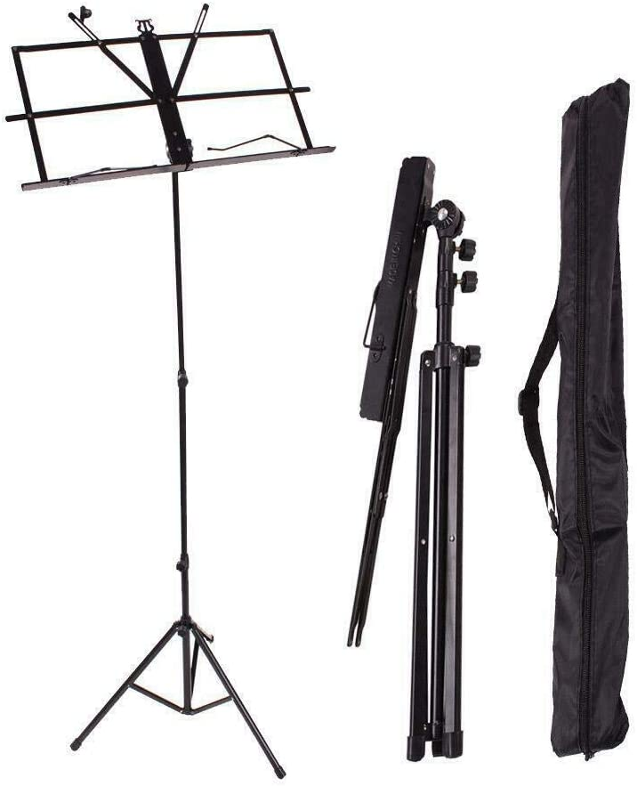 Adjustable Folding Music Sheet Stand Super intense SALE with Holder Tripod Ca Ranking TOP1 Mount