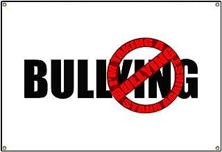 CafePress Anti Bullying Vinyl Banner, 44