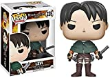 Fgbv 10 CM Attack On Titan Pop Captain Levier Q Versi Boneka Anime Karakter Model Kotak Action Figure Mainan Kartun Anime Patung Karakter Dekorasi Koleksi