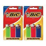 BIC Mini Lighter, Assorted Colors, 6-Pack (Packaging Varies)