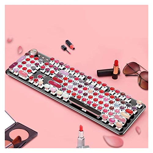 juqingshanghang1 Key Cap-Lippenstift-Galvanik-Tastatur Key Kappe Mechanische Tastaturkappe Geeignet für Computerperipheriegeräte