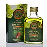 Siberian Pine Nut Oil 100 Ml, Premium Quality, Extra Virgin, First Cold Press – 3.4 Fl Oz