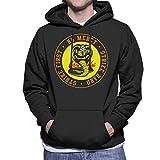 Cloud City 7 Cobra Kai Snake Logo No Mercy Men's Hooded Sweatshirt