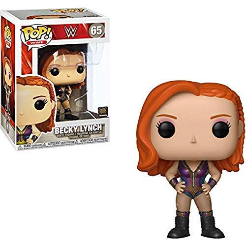 Funko- Pop Figura de Vinilo: WWE-Becky Lynch Coleccionable, Multicolor (41941)