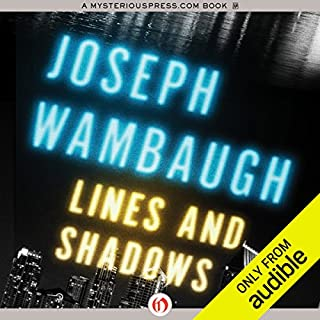 Lines and Shadows audiobook cover art