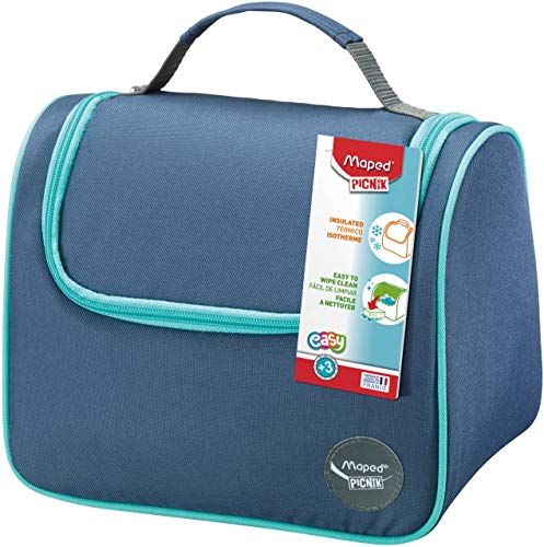 Maped 872104 Isolierte Lunch Tasche Kids Origins Blau