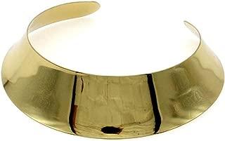 Fashion Torques Collar Women Neck Bib Bright Alloy Choker Necklace Statement Jewelry