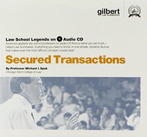 Law School Legends Audio on Secured Transactions (Law School Legends Audio Series)