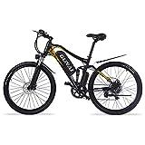 GUNAI Bicicletas de Montaña Eléctricas de 27,5 Pulgadas y 500 W Bicicleta Eléctrica con Batería de Iones de Litio de 48 V 15 Ah, Shimano de 7 Velocidades para Adultos