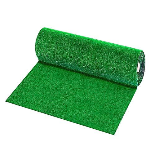 LQKYWNA 1 / 2m césped Artificial, Verde Musgo Artificial Paisaje Alfombra de césped Falso para el Suelo del hogar Acuario jardín decoración de la Boda