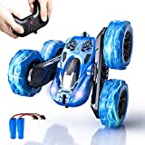 Remote Control Car, SHARKOOL 2.4GHz Electric Race Stunt Car, 4WD High Speed Double Sided 360°...