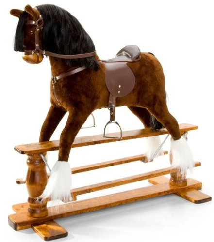 MJmark LUXURIOUS VERY LARGE Rocking Horse SATURN IV from