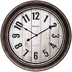 WESTCLOX(R) 32931AW Antique Wall Clock, Multicolored