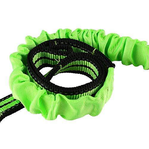 Bubbry Elastische hondenriem voor huisdieren, met handschoen, voor huisdiervest, hondenbenodigdheden, schokdempend