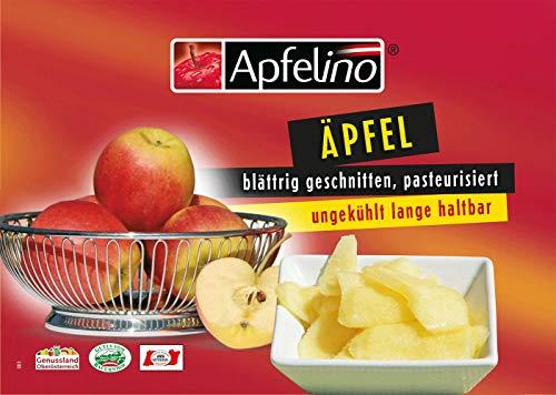 Äpfel pasteurisiert blättrig 10x2kg