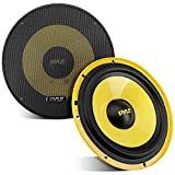 "2Way Custom Component Speaker System 6.5"" 400 Watt Component with Electroplated Plastic Basket, Butyl Rubber..."