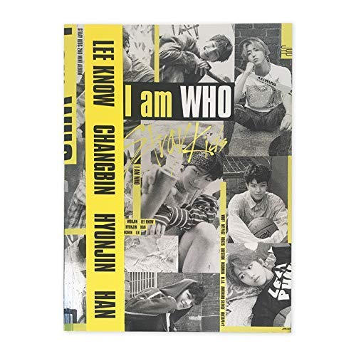 STRAY KIDS 2nd Mini Album - I am who [ I AM Ver. ] CD + Photobook + Photocard + Lyrics Poster + FREE GIFT / K-POP Sealed