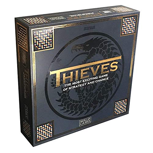 Merlin Games Thieves Board Game