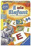 Ravensburger 24951 - E wie Elefant - Spielen und Lernen für Kinder,...