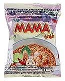 MAMA Soupe de nouilles instantanées en sachet saveur Crevette TOM YUM 60G (Lot de 10 sachets)