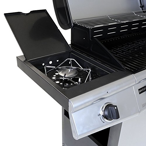 FirePlusTM CosmoGrill 6+1 Gas Grill BBQ Barbecue - Silver