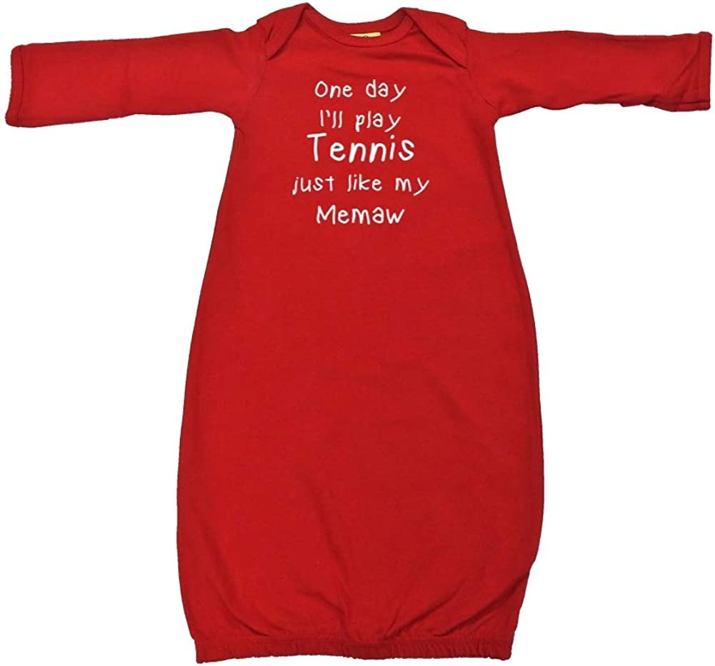One Day I'll Play Tennis Just Like Store Cotton Ranking TOP8 - My Memaw Sleepe Baby