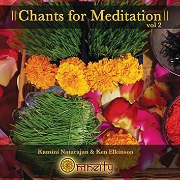 Chants For Meditation, Vol. 2