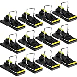 Mouse Trap SX-5009 Mice Trap That Work Human Power Mouse Killer Mouse Catcher Quick Effective 12 Pack