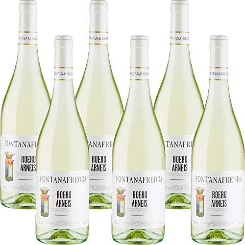 Roero Arneis DOCG   Fontanafredda   Vino Bianco del Piemonte   6 Bottiglie 75cl   Idea Regalo