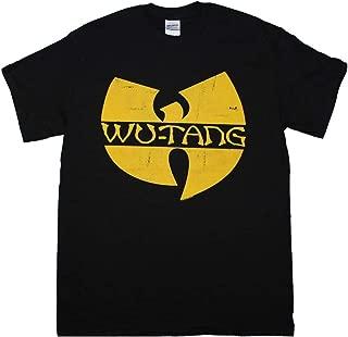 Unique Vintage Wu Tang Clan Classic Yellow Logo T-Shirt X-Large Desiqn