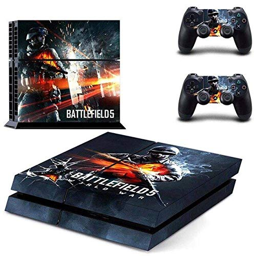 World War - PS4 Skin Console - PS4 Controller Skin Cover Vinyl Decal Protective by QUATLAMSHOP(Only PlayStation 4)