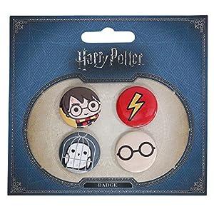 51pNIgaGzEL. SS300  - Set 4 pin Harry Potter surtido