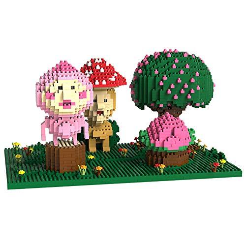 LNLJ Bloques de construcción, juguete de construcción, modelo de dibujos animados para niños regalos