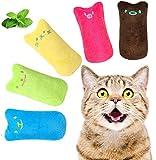 5 Stück Katzenminze Spielzeug, Knuddel Plüsch...