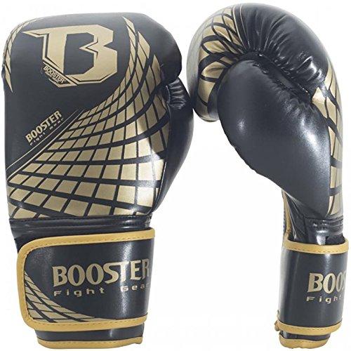 Booster Boxhandschuhe, Cube, gold Größe 12 Oz