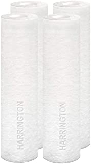 """Harrington HVV1-10N 1 Micron 10"""" x 2.5"""" Premium Sediment Water Filter Replacement Cartridge - Made in USA - for Any Standa..."""