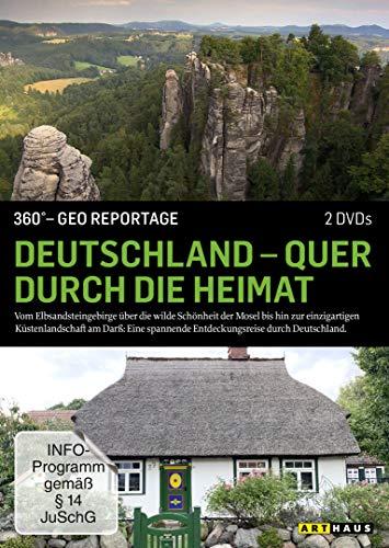 360° - GEO Reportage: Deutschland - Quer durch die Heimat [2 DVDs]