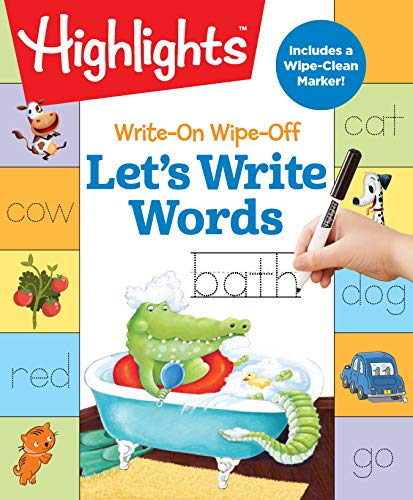 Write-On Wipe-Off Let's Write Words (Highlights Write-On Wipe-Off Fun to Learn Activity Books)