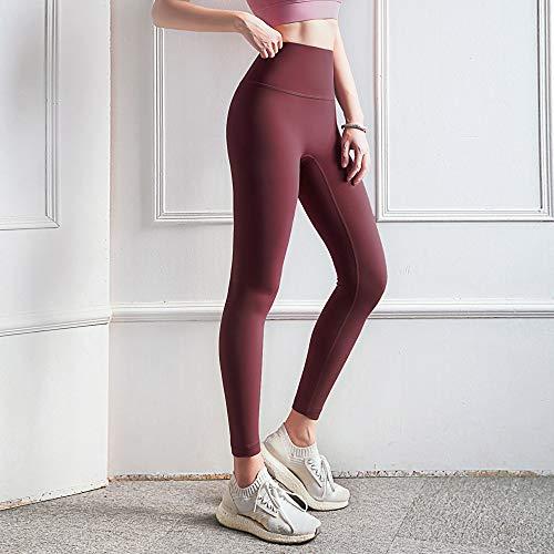 Aoccker Vrouwen Hoge Taille Yoga Broek Eendelig Naadloze Fitness Broek Hoge Taille Abdominale Controle Leggings Running Stretch Leggings Fitness Sportbroek