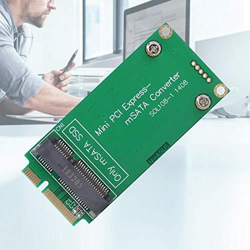 Práctica Tarjeta Vertical Estable Tarjeta Vertical PCIE Adaptador SATA Adaptador PCIE práctico Plug and Play para Escritorio para computadora para PC