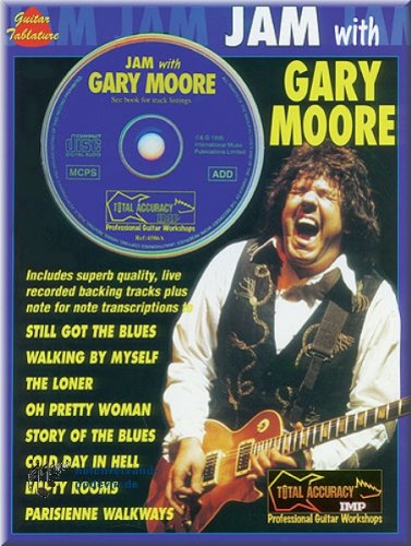 JAM WITH Gary Moore-Guitare [Partition]