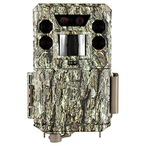 Bushnell Wildkamera Core DS 30 MP No Glow - Fotofalle, Camo optik, hohe Reichweite, mit Befestigungsgurt, Überwachung, Garten, Trailcamera, 119977M
